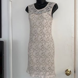 Cream Small Audrey 3+1 Dress Gently Used